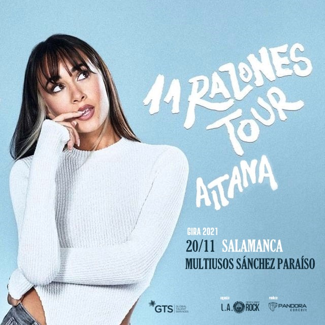 AITANA '11 RAZONES TOUR' - 20 NOVIEMBRE SALAMANCA