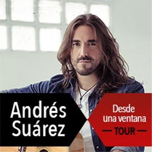 Pandora Producciones - Andrés Suárez, Tour Desde Una Ventana - Ávila - Abril - 2018