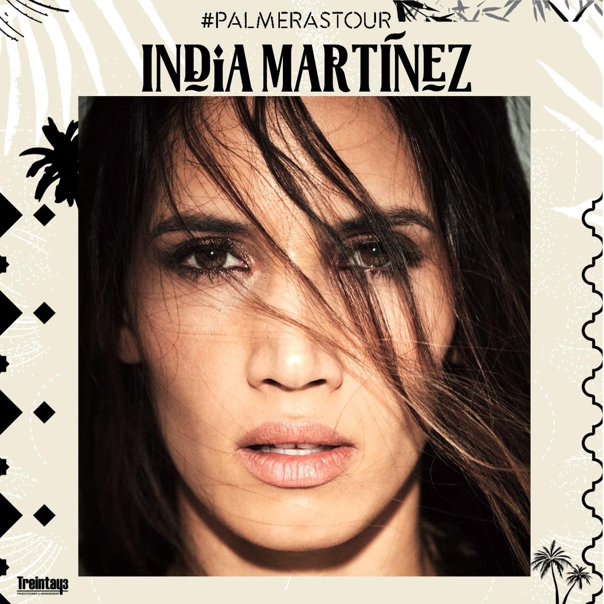 INDIA MARTÍNEZ, PALMERAS TOUR, Pandora Concert Salamanca