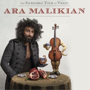 """Ara Malikian """"Tour, La increible historia de violín"""" Pandora Producciones"""