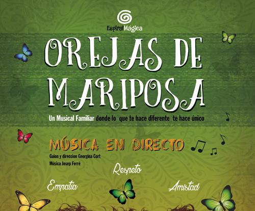 Pandora Producciones - Espectáculos Palencia: FUNDOS Unicaja - Orejas de Mariposa, El Musical
