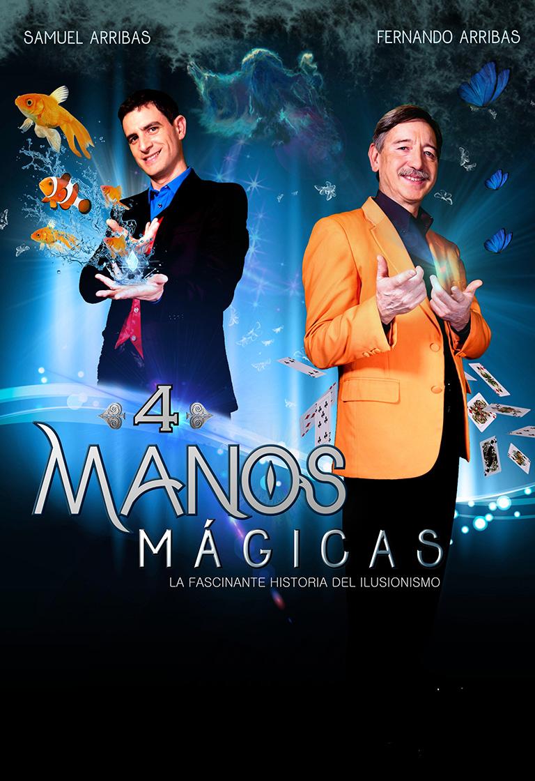 Pandora Producciones - Fundos Forum - 2021 - CUATRO MANOS MÁGICAS (Espectáculo de magia)