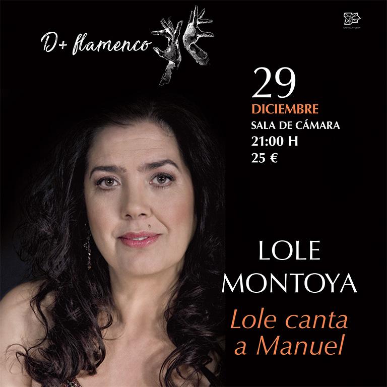 Pandora Producciones - Lole Montoya - Lole canta a Manuel - Valladolid - 2018