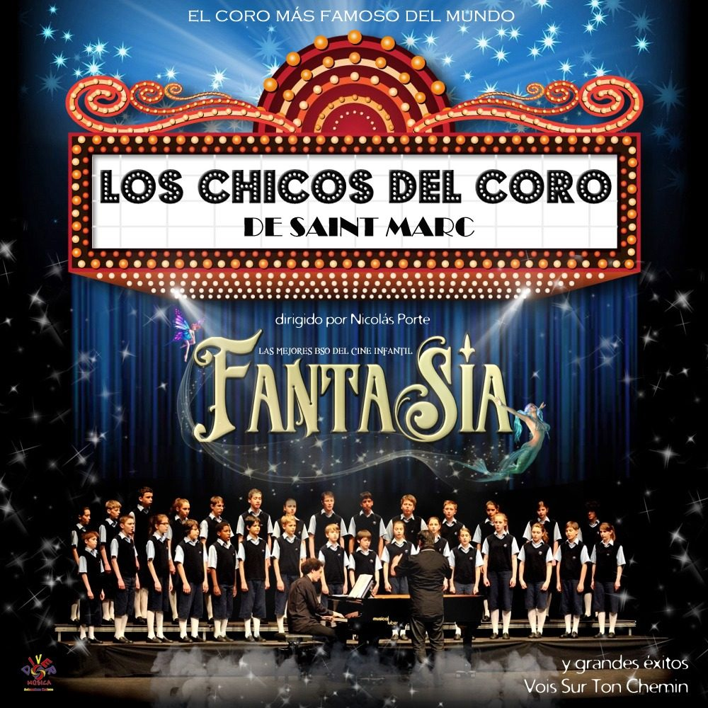 """Pandora Producciones - Los Chicos del Coro de Saint Marc """"Fantasía"""" - Segovia - Marzo - 2018"""