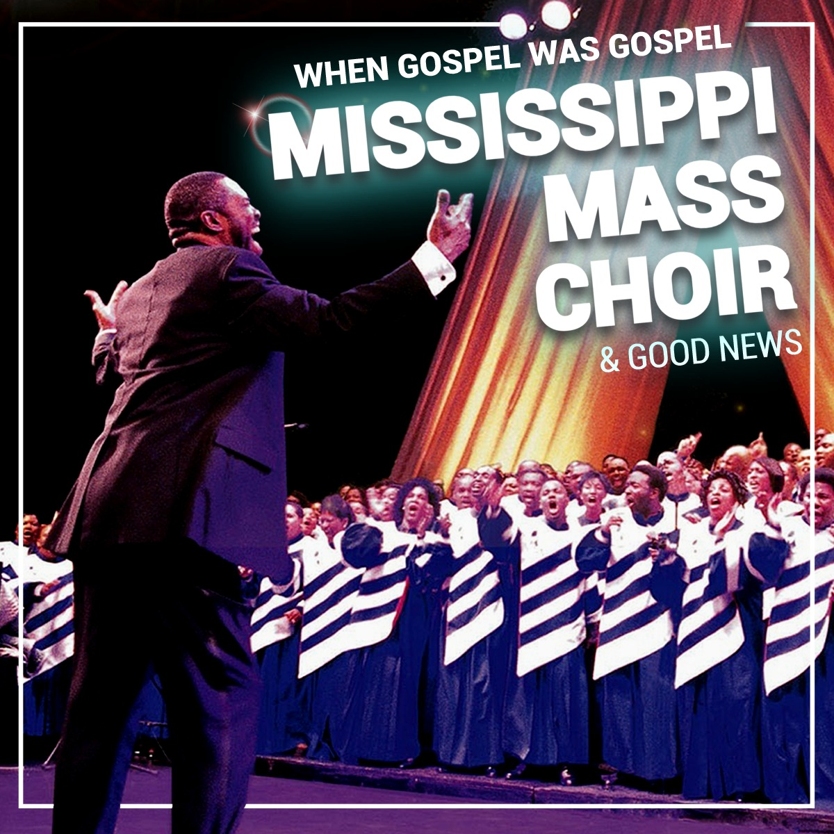 Pandora Producciones - Mississippi Mass Choir & Good News - When Gospel was Gospel - Valladolid - Diciembre - 2019