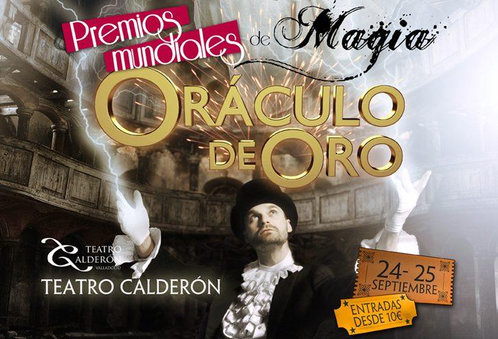 """Premios Mundiales """"Oráculo De Oro"""" - Valladolid - 2016"""