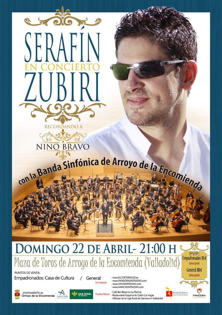 Pandora Producciones - Serafín Zubiri - Recordando a Nino Bravo - Arroyo de la Encomienda - Valladolid - 2018