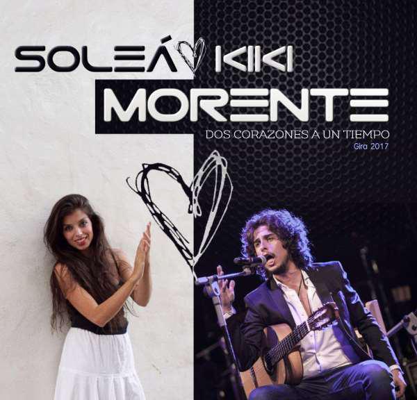 Pandora Producciones - Soleá y Kiki Morente - Dos corazones a un tiempo - Valladolid - Diciembre - 2017