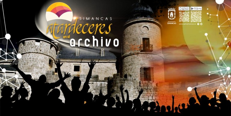 Arranca con éxito de asistencia la tercera Edición de 'Atardeceres en el Archivo', en Simancas