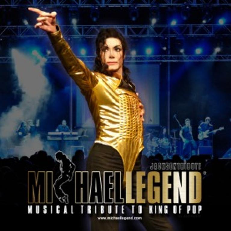 Pandora Producciones - Michael Legend, Tour Homenaje Rey del Pop - Ponferrada - Septiembre - 2017
