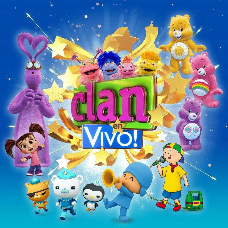 Pandora Producciones - Clan en Vivo! - Gira