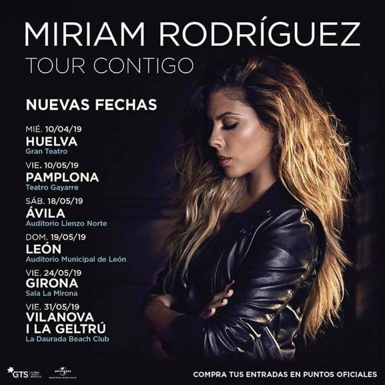 Pandora Producciones - Miriam Rodríguez - Tour Contigo - Ávila - 2019