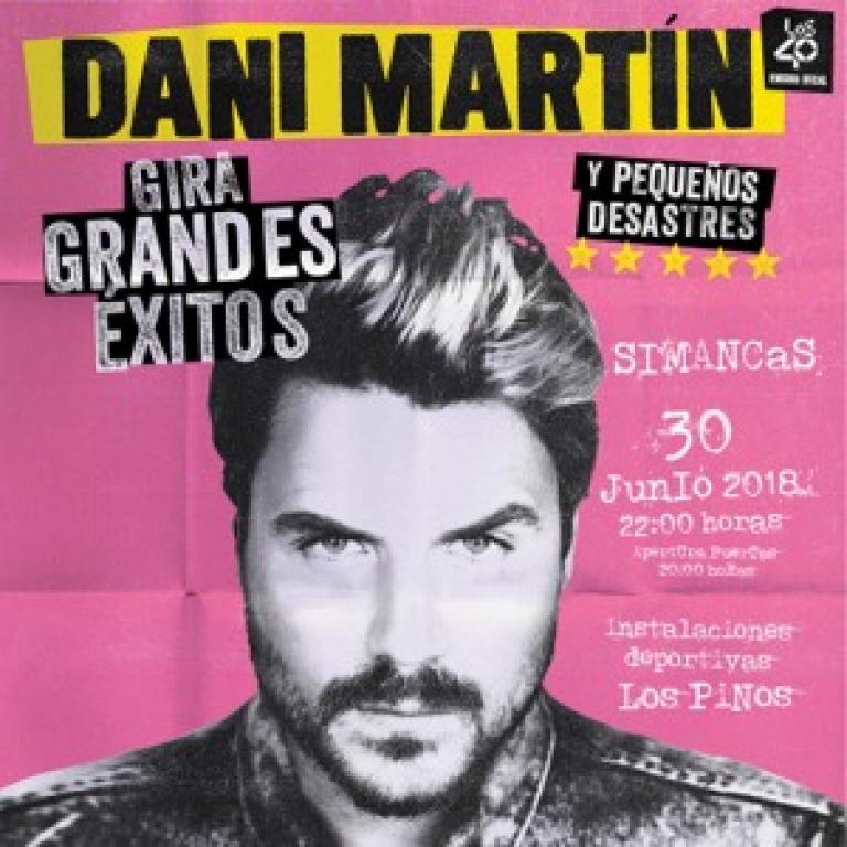 Pandora Producciones - Dani Martín Gira 'Grandes Éxitos y Pequeños Desastres' - Simancas - Valladolid - 2018