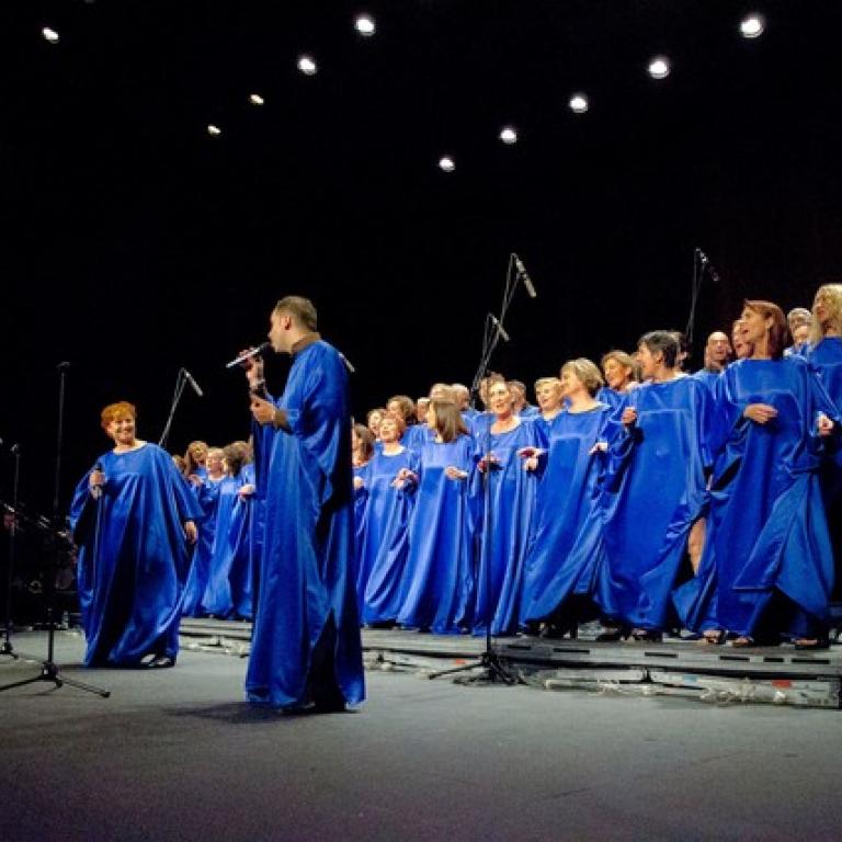 Pandora Producciones - Atardeceres en el Archivo - Coro Gospel - Good News - Simancas - Valladolid - 2018