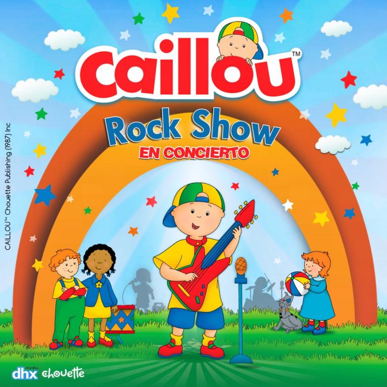 Pandora Producciones - Caillou, Show Rock en Concierto - Palencia - Enero - 2020