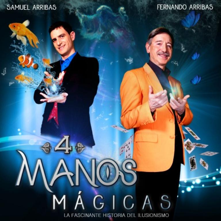 Pandora Producciones - 4 Mano Mágicas - Palencia - 2017