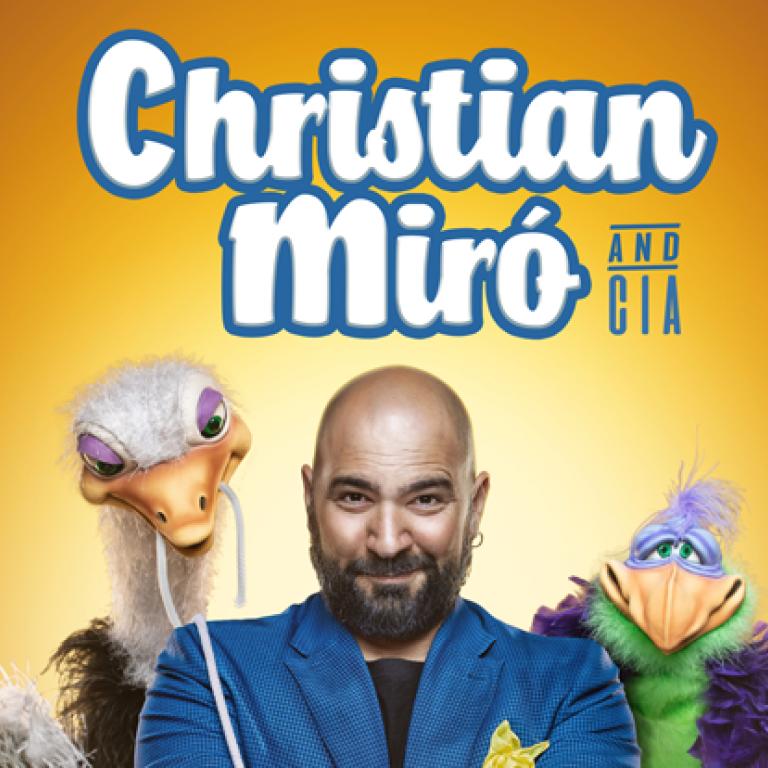 Pandora Producciones - Espectáculos Palencia: FUNDOS Unicaja - Cristian Miro