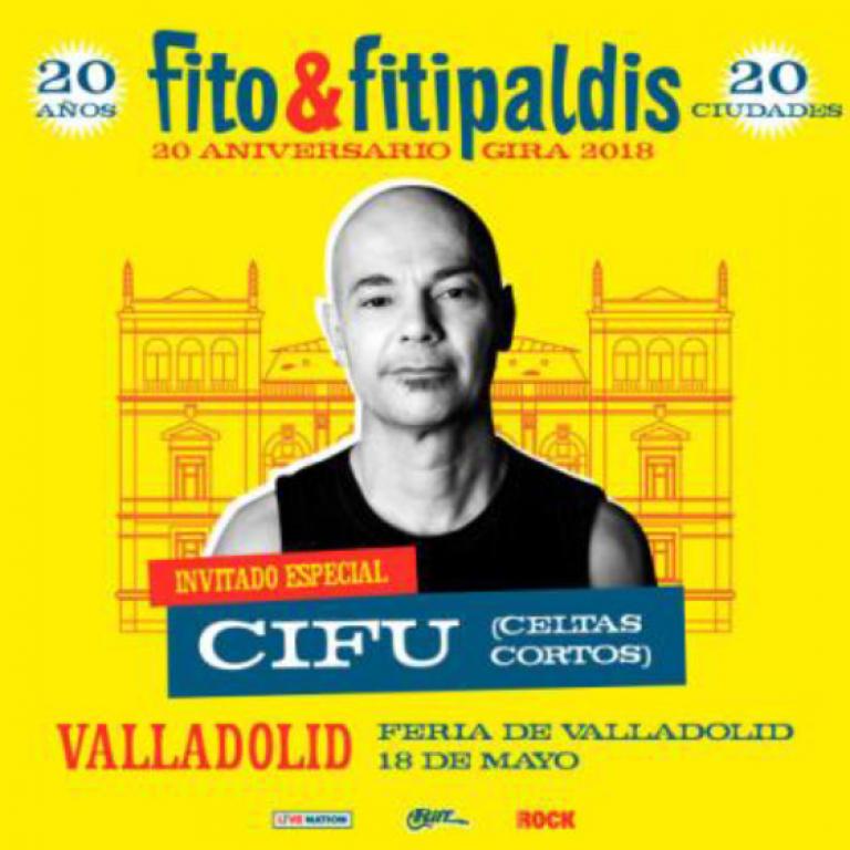 Pandora Producciones - Noches del Pisuerga - Valladolid - 2018 - Fito - 20 Aniversario Gira