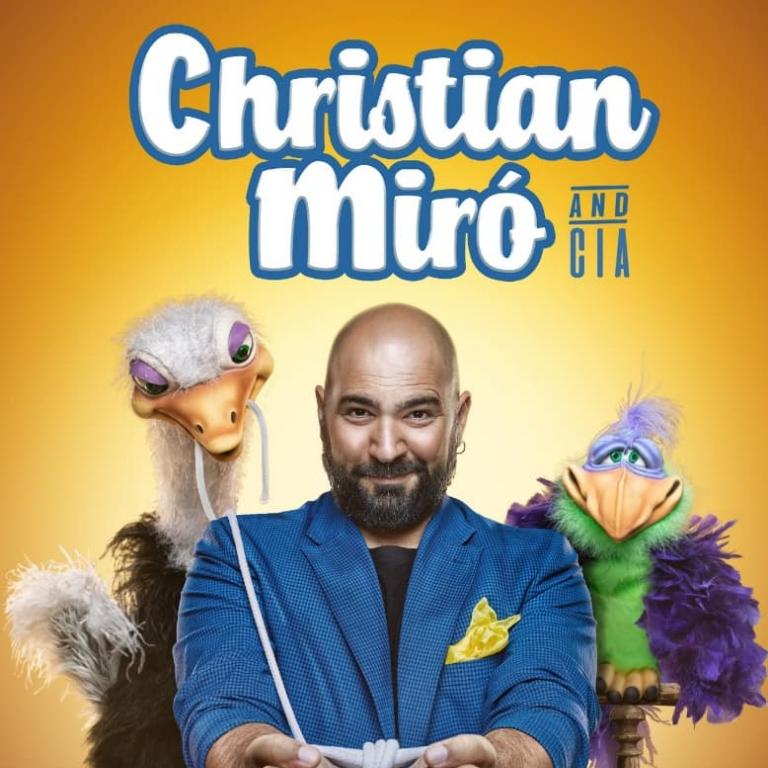 Pandora Producciones - Fundos Forum - 2021 - CHRISTIAN MIRÓ (Espectáculo de magia)