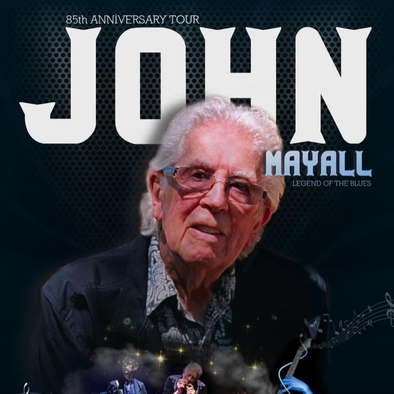 Pandora Producciones - John Mayall - 85th Anniversary Tour - Salamanca - Octubre - 2019
