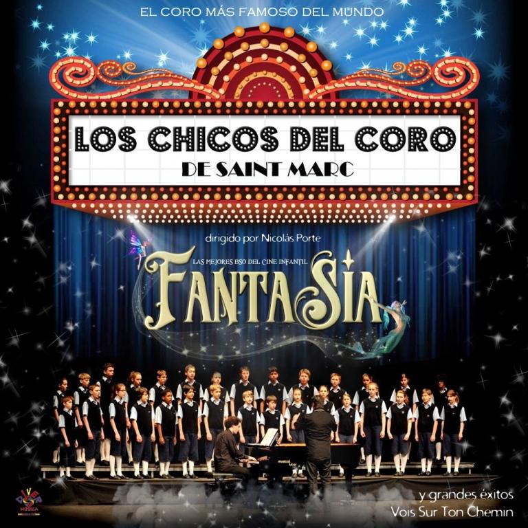 """Pandora Producciones - Los Chicos del Coro de Saint Marc """"Fantasía"""" - Valladolid - Marzo - 2018"""