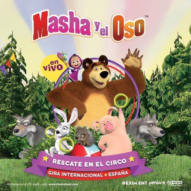 Pandora Producciones - Masha y el Oso - Rescate en el Circo - Valladolid - 2018