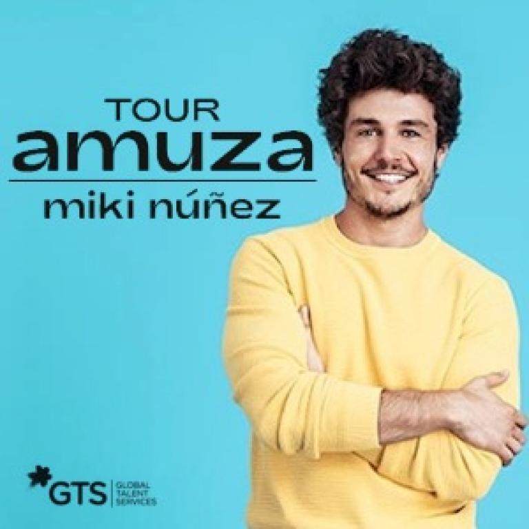 Pandora Producciones - Miki Nuñez - Tour Amuza - Valladolid - Noviembre - 2019