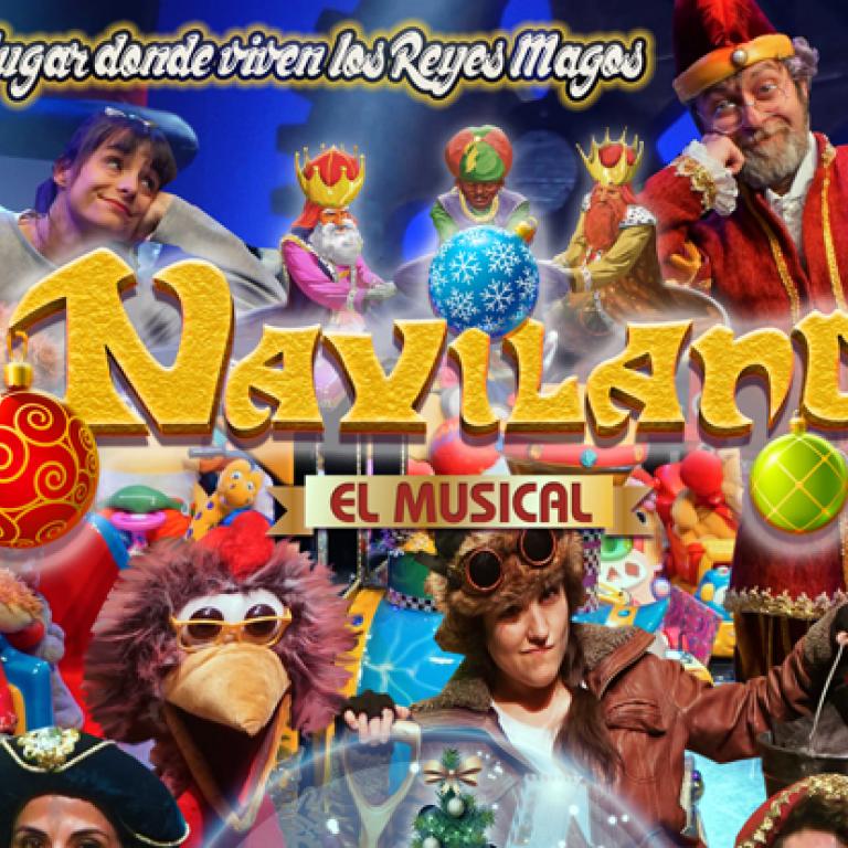 Pandora Producciones - Naviland: El lugar donde viven los reyes Magos, el musical