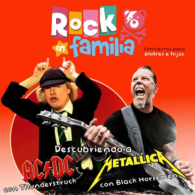"""Pandora Producciones - Noches en la Plaza de Laguna de Duero - 2021 - Rock en Familia """"Descubriendo a Metallica y AC/DC"""""""