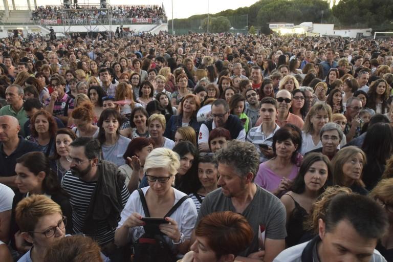 Pandora Producciones - Bosé, Tour Estaré - Simancas - Valladolid - 2017