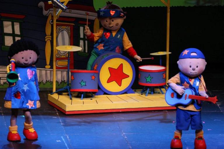Pandora Producciones - Caillou, Show Rock en Concierto - Guadalajara - Enero - 2020