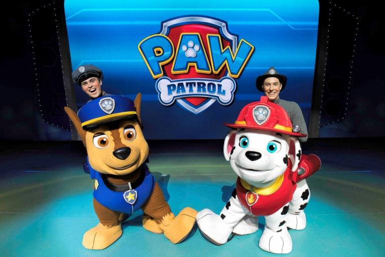 Pandora Producciones - Patrulla Canina en vivo - Carrera al Rescate