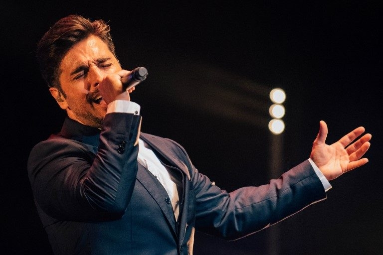 David Bustamante - Tour Amor de los Dos - Valladolid - 2017