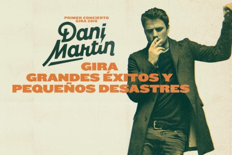 Pandora Producciones - Dani Martín será el plato estrella en la Segunda Edición del ciclo 'Atardeceres en el Archivo' en Simancas con la gira 'Grandes Éxitos y Pequeños Desastres'
