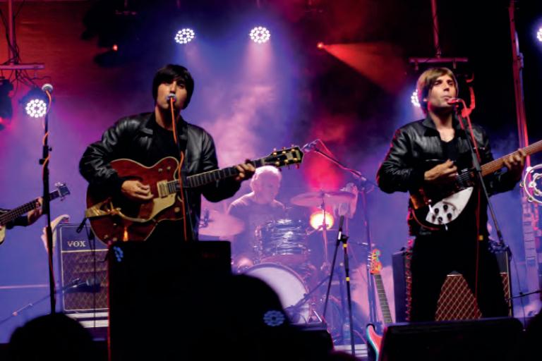 Pandora Producciones - Fundos Forum - 2021 - The Flaming Shakers (Tributo a Beatles)