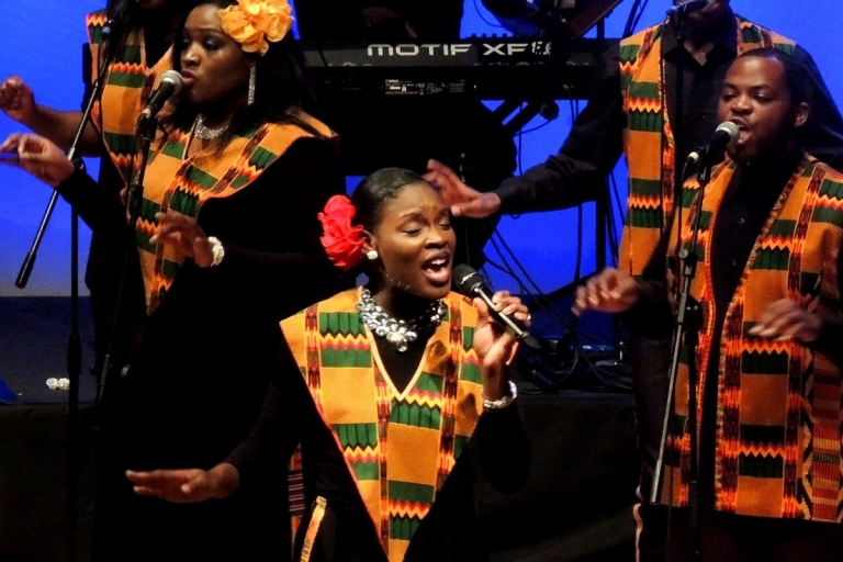 "Pandora Producciones - Harlem Gospel Choir ""Tour Homenaje a Adele"" - Santiago de Compostela - A Coruña - 2016"