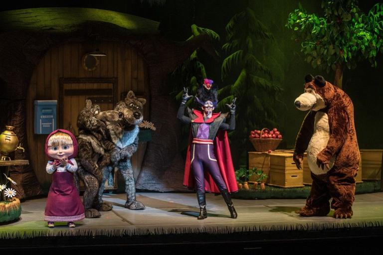 Pandora Producciones - Masha y el Oso - Rescate en el Circo - Bilbao - 2018