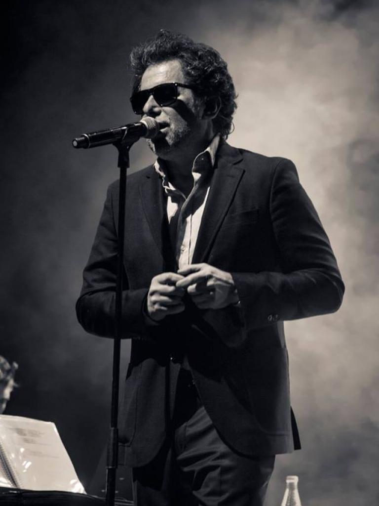 """Andrés Calamaro Gira """"Licencia para Cantar"""" - Valladolid - 2016"""