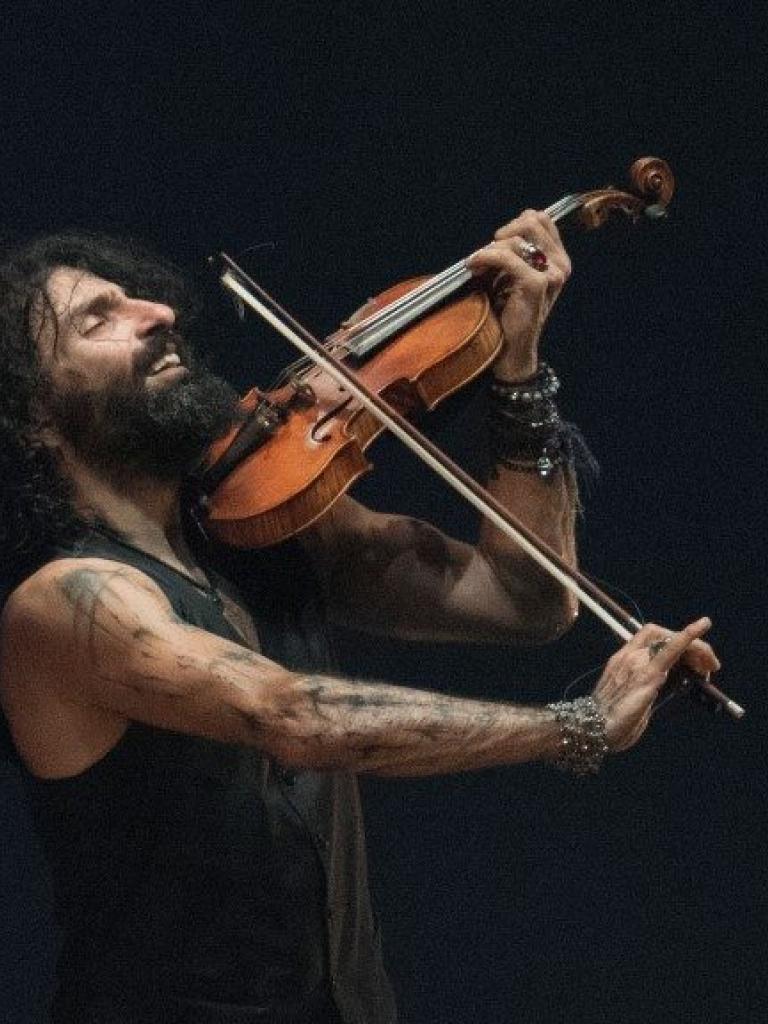 """Ara Malikian """"Tour, La increible historia de violín"""" Pandora Producciones Valladolid"""