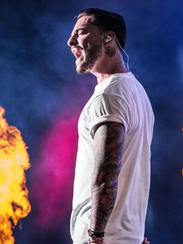 Pandora Producciones - Maluma - Tour F.A.M.E - Palencia - 2018